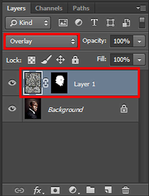 langkah ke enam Cara Menerapkan Tekstur Pada Wajah Dengan Photoshop