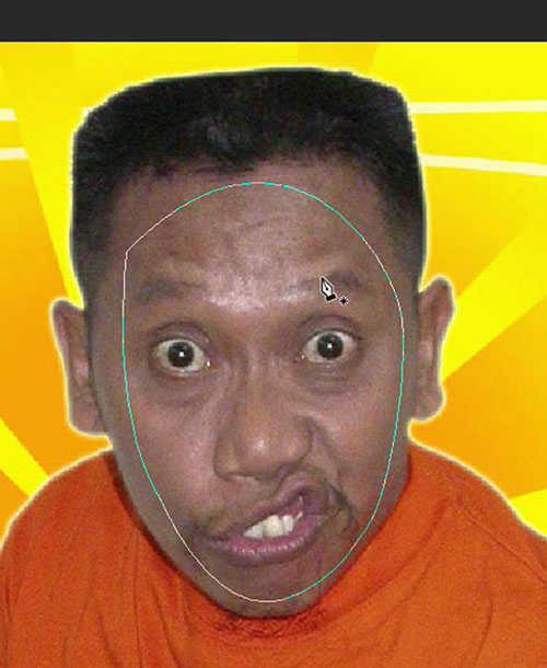 langkah ke dua Cara Mengganti Wajah Dengan Photoshop