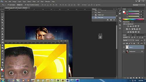langkah ke lima Cara Mengganti Wajah Dengan Photoshop