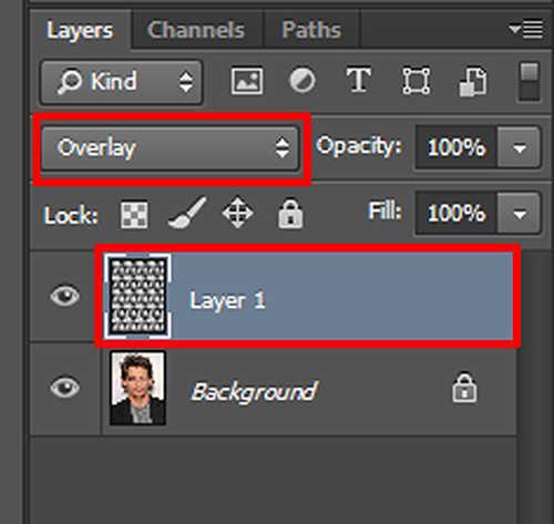langkah ke delapan Cara Mengisi Foto Pada Foto Lain Dengan Photoshop