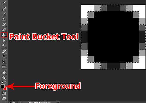 langkah ke delapan Cara Mengubah Foto Menjadi Pola Dot (Pattern Of Colored Dots) Dengan Photoshop