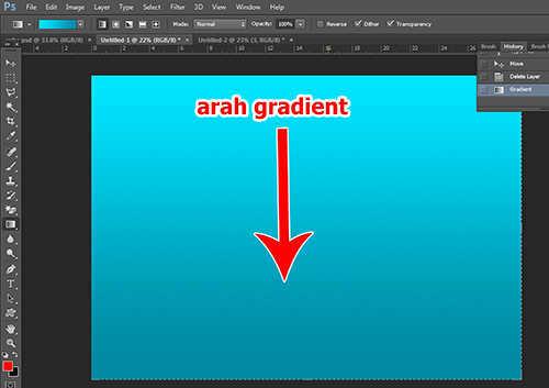 langkah ke tiga Cara Membuat Efek Stiker 3D pada Teks dengan Photoshop