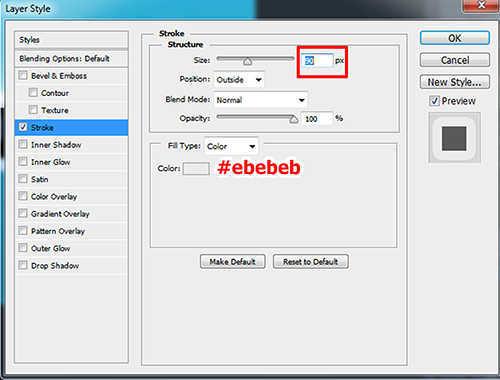 langkah ke tujuh Cara Membuat Efek Stiker 3D pada Teks dengan Photoshop