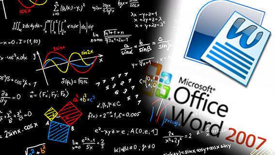 Cara Menulis Rumus di Microsoft Word 2007