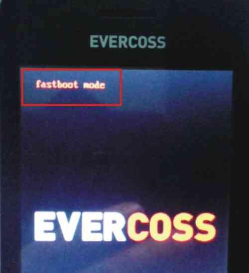 Langkah keenam Cara hard reset Android Evercoss A5K untuk mengatasi lupa pola