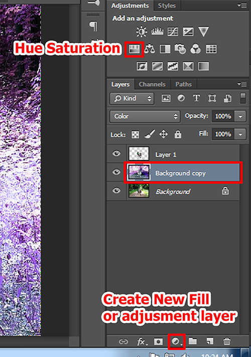 langkah ke lima Membuat Efek Color Invert Dengan Photoshop