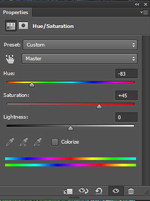langkah ke enam Membuat Efek Color Invert Dengan Photoshop