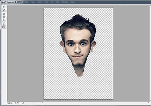langkah ke delapan Membuat Karikatur Menggunakan Photoshop