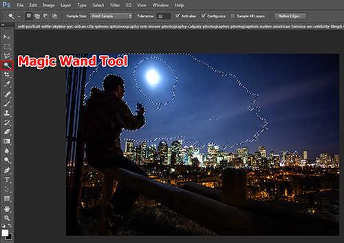 langkah pertama Cara Menambah Kembang Api Pada Foto Dengan Photoshop