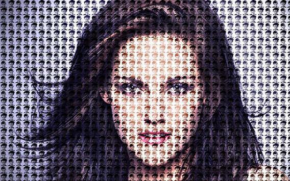 contoh hasil Cara Mengisi Foto Pada Foto Lain Dengan Photoshop