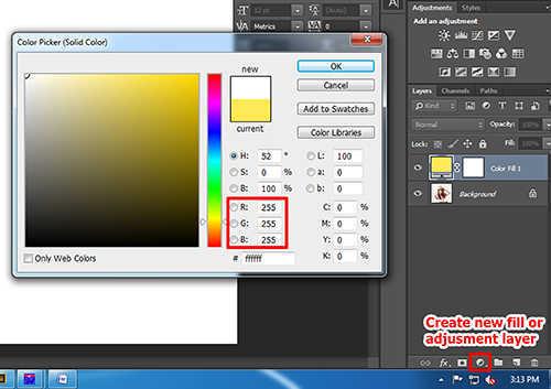 Langkah kedua membuat efek vertical panel photo dengan Adobe Photoshop