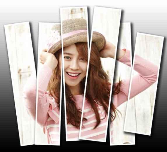 Cara membuat efek vertical panel photo dengan Adobe Photoshop