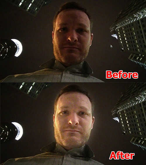 hasil Cara Memutihkan Wajah Dengan Photoshop