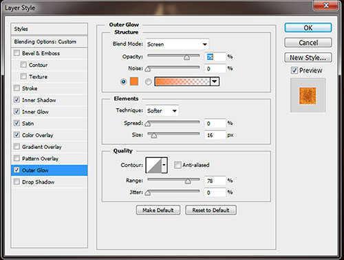 style 5 Cara Membuat Efek Api Pada Tulisan dengan Photoshop