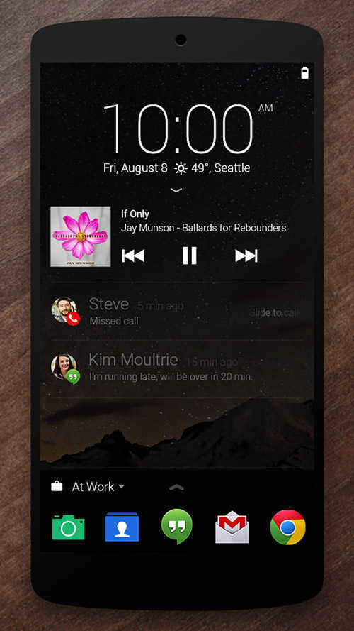 Aplikasi Lockscreen Android