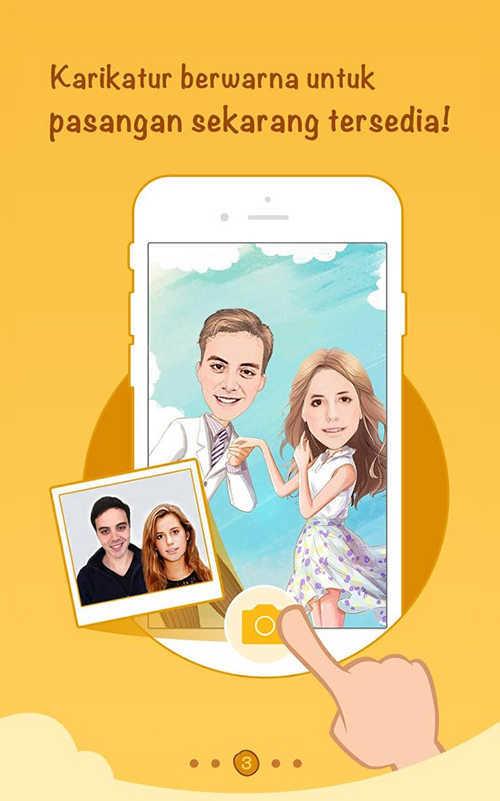 Aplikasi Mengubah Foto Jadi Kartun