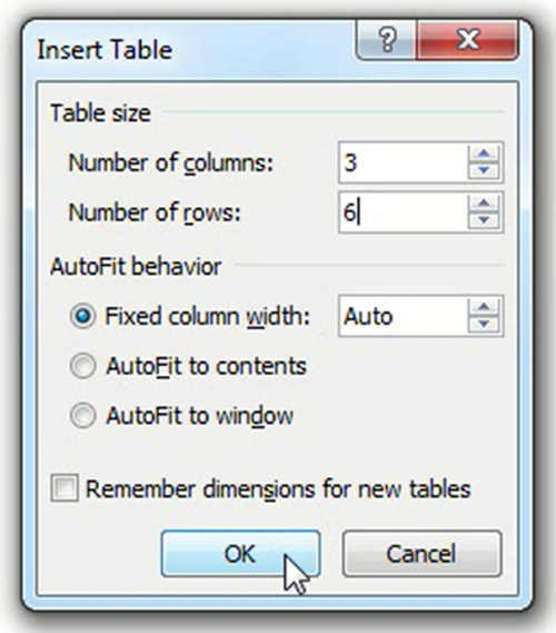 langkah ke empat Cara Membuat Tabel Di Microsoft Word