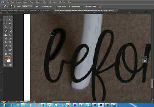 langkah ke dua Cara Menghilangkan Watermark Cara Menghilangkan Watermark