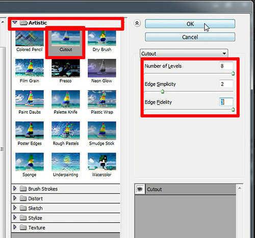 langkah ke enam Cara Mengubah Foto Jadi Kartun dengan Adobe Photoshop