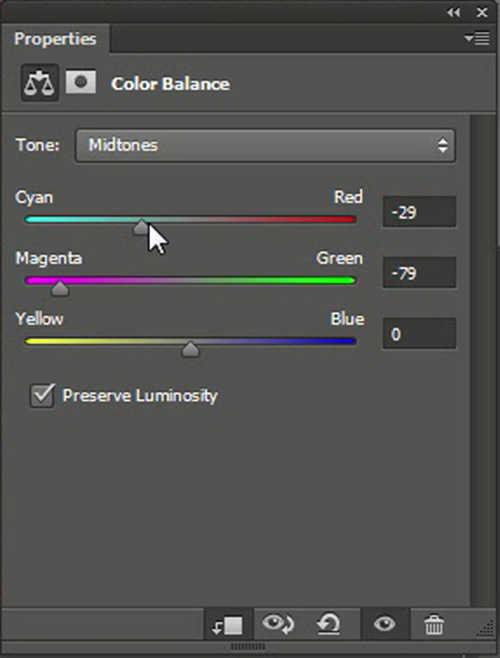 langkah ke delapan ara Mengubah Warna Mata Dengan Photoshop