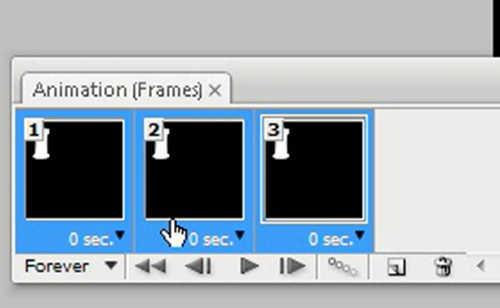 langkah ke lima Cara membuat GIF dengan photoshop