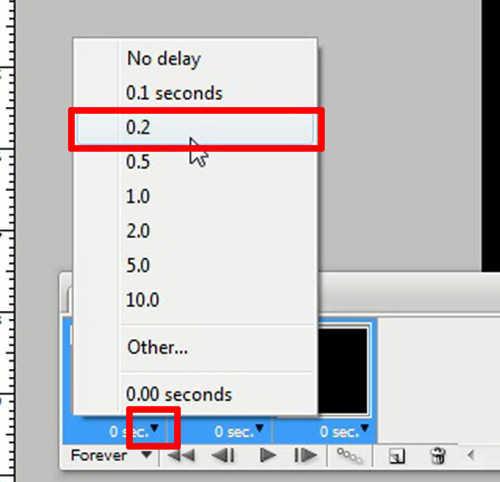 langkah ke enam Cara membuat GIF dengan photoshop