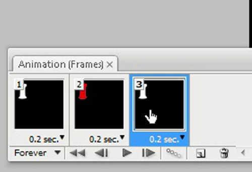 langkah ke tiga belas Cara membuat GIF dengan photoshop