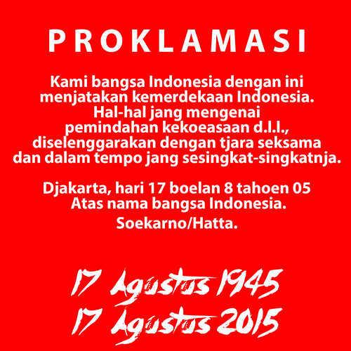 DP BBM 17 Agustus