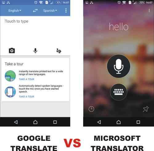Kelebihan dan kekurangan dari Google translate & Microsoft Translator