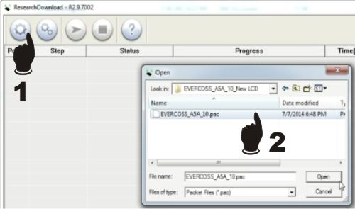 Firmware & Cara Flash Evercoss A5A Bintang