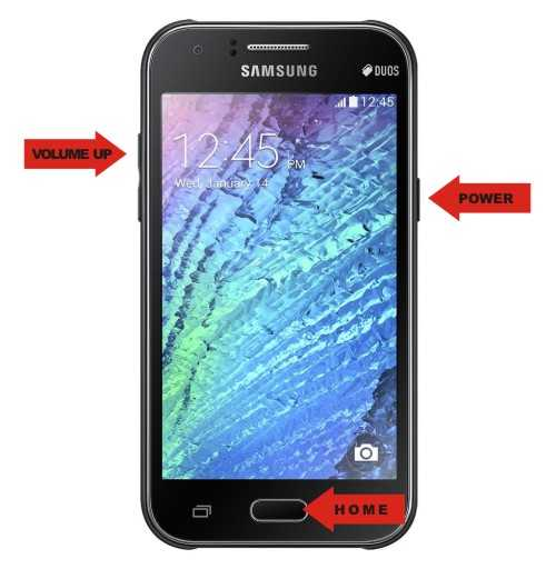 Cara Hard Reset dan Factory Reset Samsung Galaxy J1
