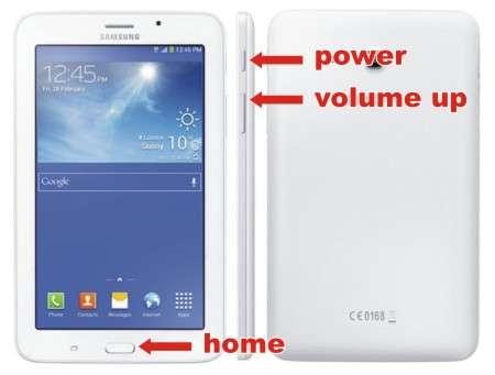 Cara Hard Reset Samsung Galaxy Tab 3 V SM-T116NU