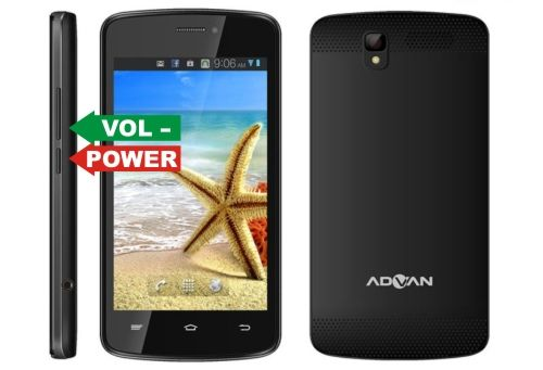 Cara Hard Reset Advan S4A