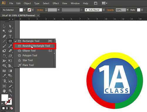 langkah pertama Membuat Flat Design Long Shadow dengan Illustrator