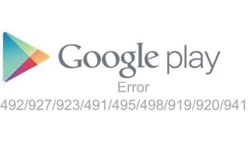 cara atasi google play store error