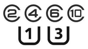 simbol kelas kecepatan SD card