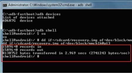Install cwm sukses pada Andromax G yang bootloop