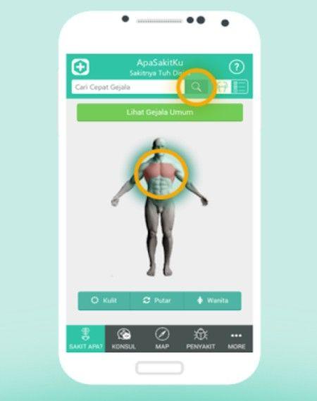 ApaSakitKu, Aplikasi Android Untuk Deteksi Penyakit