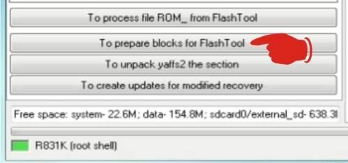 Firmware OPPO R831k Flashtool Full Backup