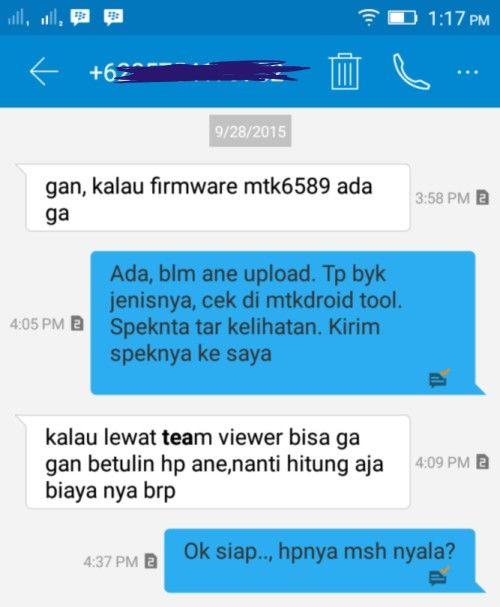 Jasa Flash Android Online Murah dan terpercaya