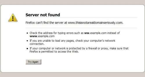 arti server not found