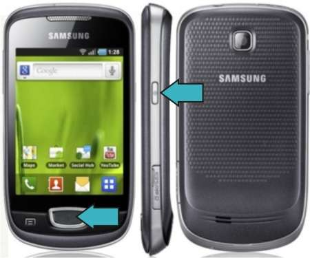 Cara Hard Reset Samsung Galaxy Mini GT-S5570
