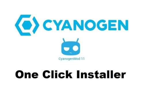 one click installer cyanogen mod