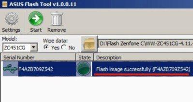Cara Flash Asus Zenfone C dengan FlashTool Sukses