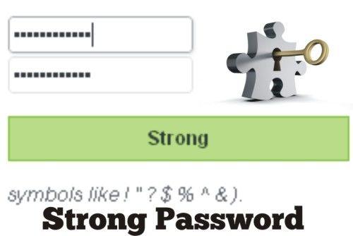 cara membuat pssword yang kuat