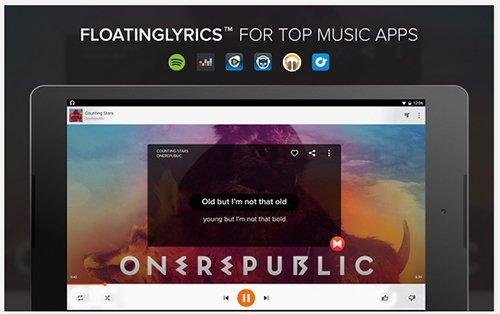 aplikasi pemutar musik dan lirik