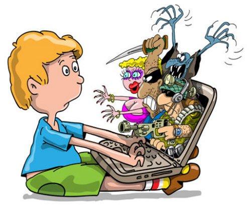 cara aman anak mengakses internet