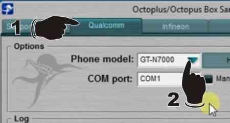 Langkah pertama Cara Repair (Write) IMEI Samsung Galaxy Note GT-N7000