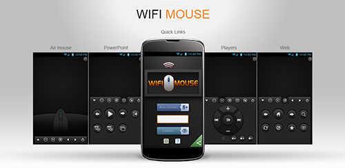 cara mengubah hp android jadi mouse