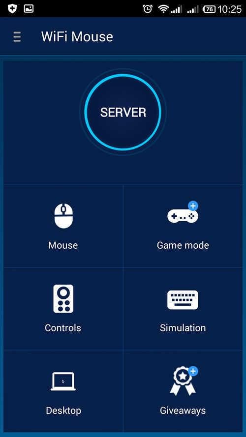 langkah pertama cara mengubah hp android jadi mouse